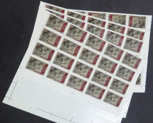 EDW1949SELL : RUSSIA 1968 Sc #3500. 250 stamps in Full Sheets. VF MNH. Cat $1125