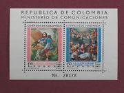 Colombia C388 MNH** mini Religious ART sheet