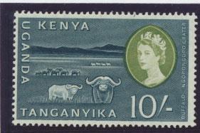 Kenya Uganda Tanganyika SG 197  Mint Never Hinged