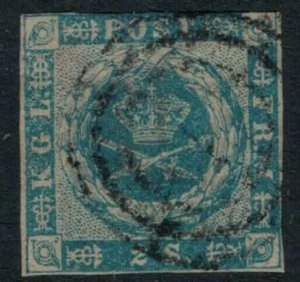 Denmark #3 CV $60.00 Early postage stamp
