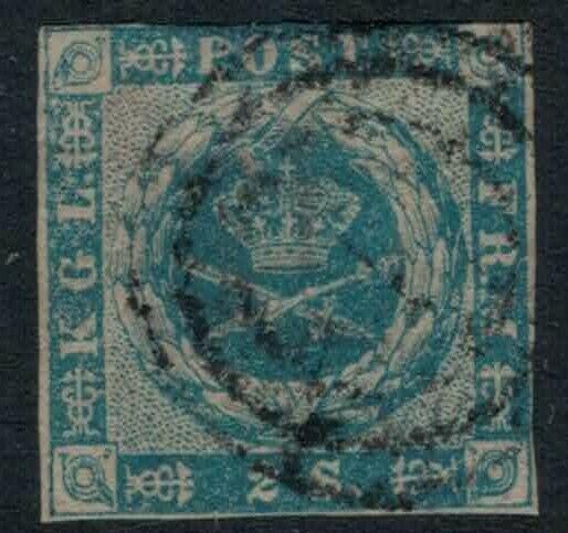 Denmark #3 CV $60.00 Early postage stamp