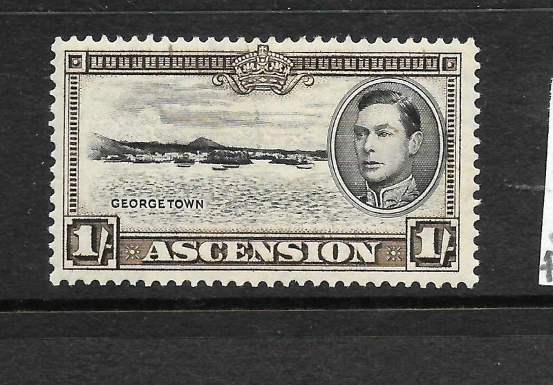 ASCENSION ISLAND  1938-53  1/-  KGVI  PICTORIAL  MHH      SG 44