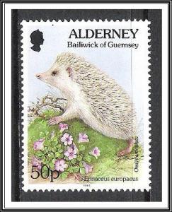 Alderney #85 Flora & Fauna MNH