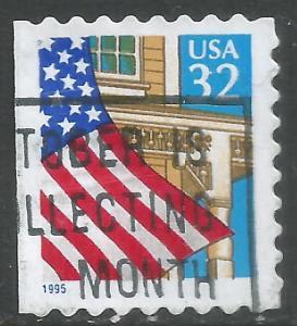 UNITED STATES 2897 VFU FLAG 764C-12
