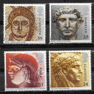 Great Britain # 1502-05  Roman Britain    (4) Mint NH
