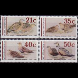 BOPHUTHATSWANA 1990 - Scott# 244-7 Birds Set of 4 NH