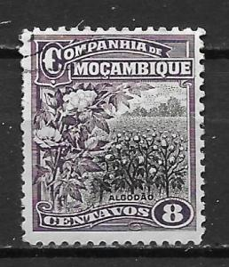 Mozambique Company 125 8c Cotton Field single Used