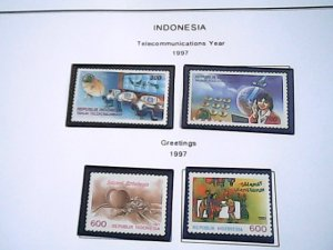 1997  Indonesia  MNH  full page auction