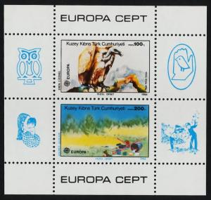 Turkish Republic of Northern Cyprus 181 MNH Bird, Vulture, EUROPA