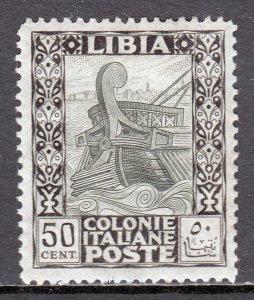 Libya - Scott #55 - MH - Patchy gum, pencil/rev. - SCV $3.40