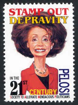 NEW Political Parody Faux Pas Fantasy Stamp - Cinderella MNH