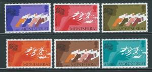 Montserrat 306-11 1974 100th UPU set NH