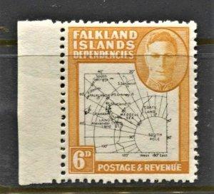 STAMP STATION PERTH -Falkland Is.Dep.#1L6 MNH OG VF Thin Maps Set $130 CV$30.00