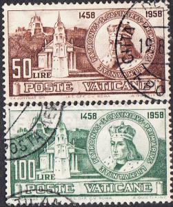 Vatican #264-265 Used Set