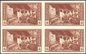 759 Mint,NGAI,NH... Block of 4... SCV $4.00