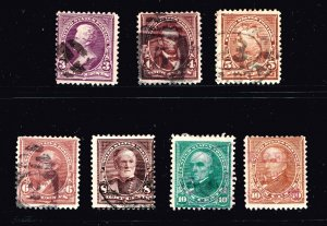 US STAMP 19TH SMALL BANK NOTE USED STAMPS COLLECTION LOT