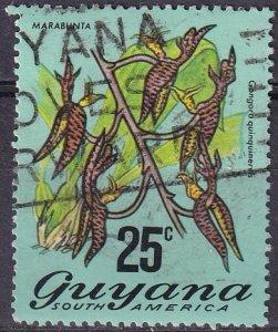 Guyana #141  F-VF Used  CV $9.00 (Z3205)