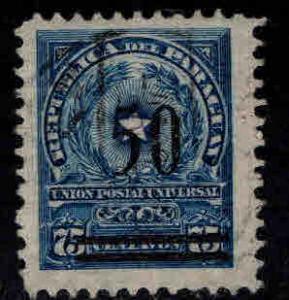 Paraguay Scott 242 Used overprint
