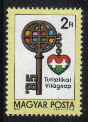 Hungary  1985  MNH  World Tourism Day complete