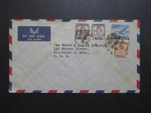Iraq 1953 Commercial Cover to USA (I) - Z8603