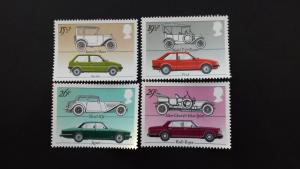 Great Britain 1982 Cars Mint