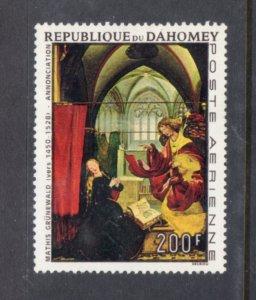 Dahomey C66 MH VF-Gruenwald - Annonciation Religious Art