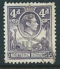 Northern Rhodesia  SG 36 Fine Used