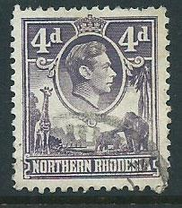 Northern Rhodesia  SG 36 Fine Used