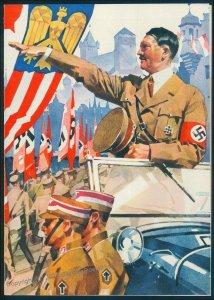 3rd Reich Germany 1937 Hitler Reichsparteitag Party Rally Propaganda Teleg 95580