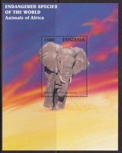 Tanzania, Fauna, Animals, African Elephant MNH / 1997