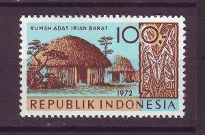 J25013 JLstamps 1972 indonesia hv of set mnh #833 house
