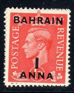 BAHRAIN--1948-49    SG 52    1a on 1d   mnh um