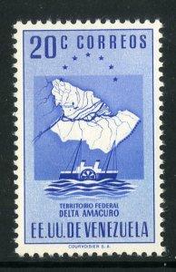 VENEZUELA 551 MNH SCV $1.50 BIN .75 SHIP, MAP