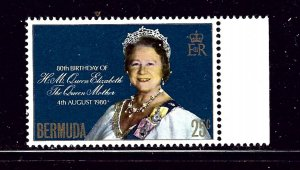 Bermuda 401 MNH 1980 Queen Mother #2