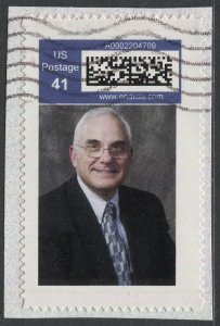 US  2007 Endicia.com 41c Personal Computer Postage, Used F-VF, Peter Viscusi