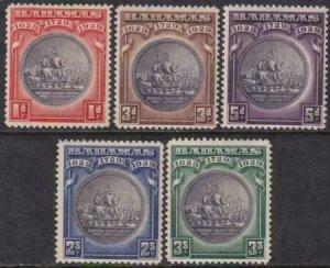 Bahamas 1930 SC 85-89 Mint Set