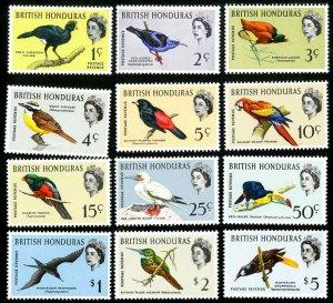 British Honduras Stamps # 167-78 MVLH VF Scott Value $75.60