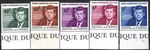 Kinshasa. 1964. 207-12 from the series. Kennedy, President of the United Stat...