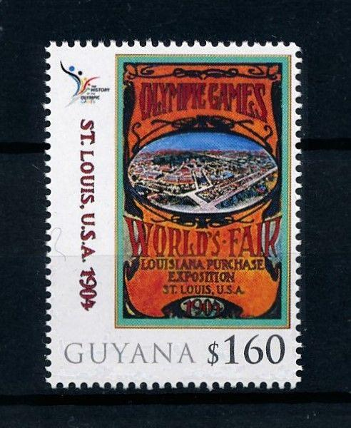 [78015] Guyana 2010 Olympic Games St. Louis  MNH