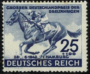 GERMANY 1942 HAMBURG DERBY & CULTURE FUND MINT (NH) SG 804 P.14 FINE