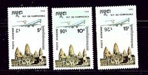 Cambodia C59-62 MNH 1986 Complete set