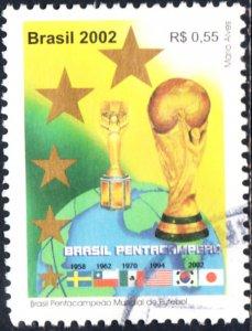 Brazil #2848  Used