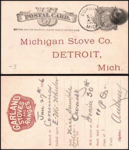Goldpath: US postal card  _CV23_P5