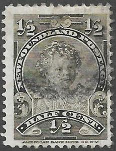 Newfoundland Scott Number 78 F Used