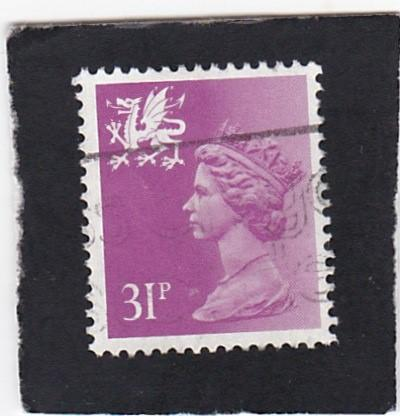 Great Britain;  Wales &  Monmouthshire;  #  53   used
