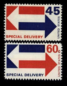 #E22-3 45c/60c Special Delivery.... NH -- FREE SHIPPING