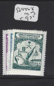 SAUDI ARABIA (P0102B)  BOAT   SG 446-8   MOG