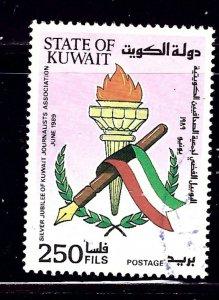 Kuwait 1104 Used 1989 Nat'l Journalists Assoc    (ap1018)