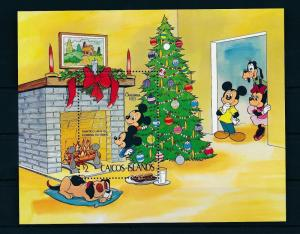 [22173] Caicos Islands 1983 Disney Mickey Minnie Mouse Christmas MNH