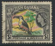 British Guiana SG 343 Used  (Sc# 265 see details)